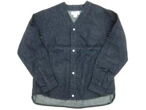 ノーカラー Gardenia Jacket 8oz Denim
